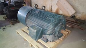 Image Is Loading 700 Hp Reliance Electric Motor 1200 Rpm 5810s