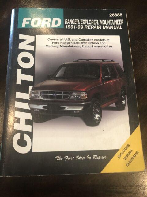 Chilton Repair Manual 1991