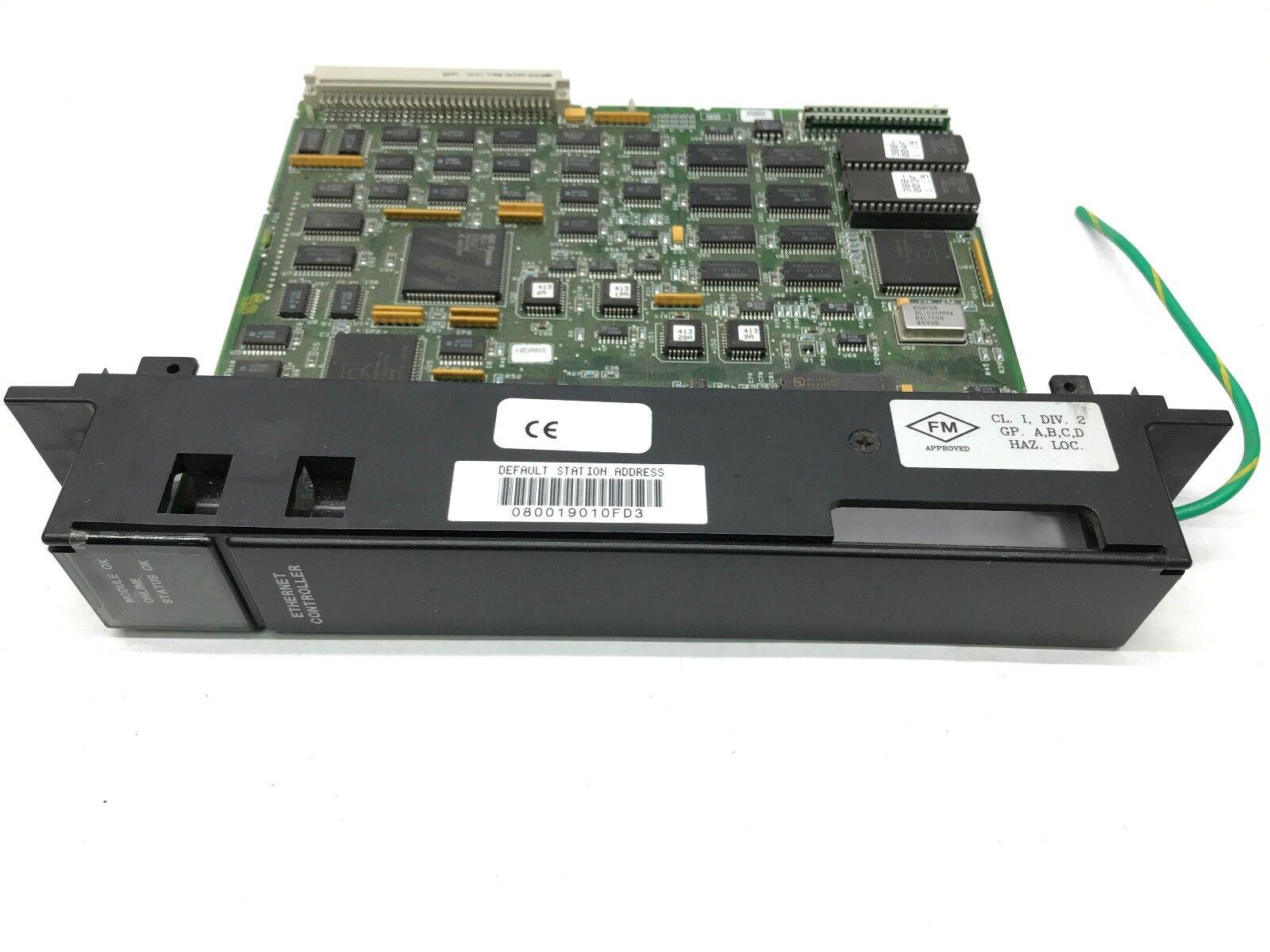 GE Fanuc IC697CMM741J Ethernet Controller IC697CMM741
