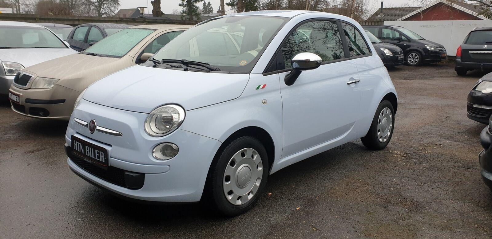 Fiat 500 1,2 Lounge 3d - 47.900 kr.