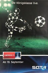 Details Zu Poster Plakat Uefa Champions League Fussball Cool 2m 180 X 120 Xxl Selten