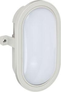 Brennenstuhl LED-Ovalleucht<wbr/>e, Kellerleuchte L DN 5402 IP44 grau 5,5W 460lm A+