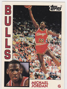 Details About Michael Jordan Rookie Card Topps Basketball Chicago Bulls Rc 23 Mj Le