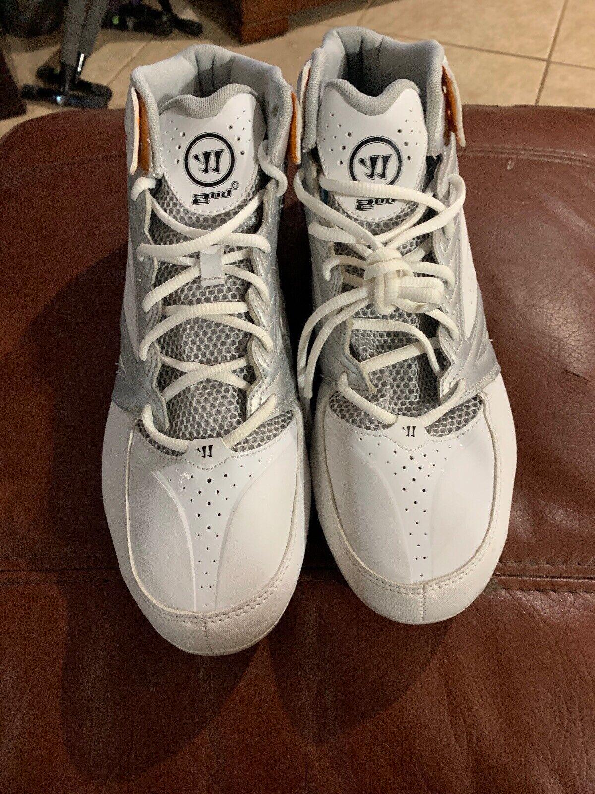 c2576f830 Men s Warrior Lacrosse Degree 3.0 Cleats Size 14 New Second  nnzbpz1636-Footwear