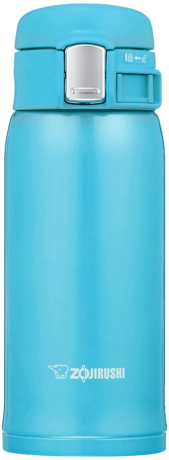 Zojirushi SM-SC36-AV Stainless Thermos Mug Bottle 0.36L (Turquoise bluee)