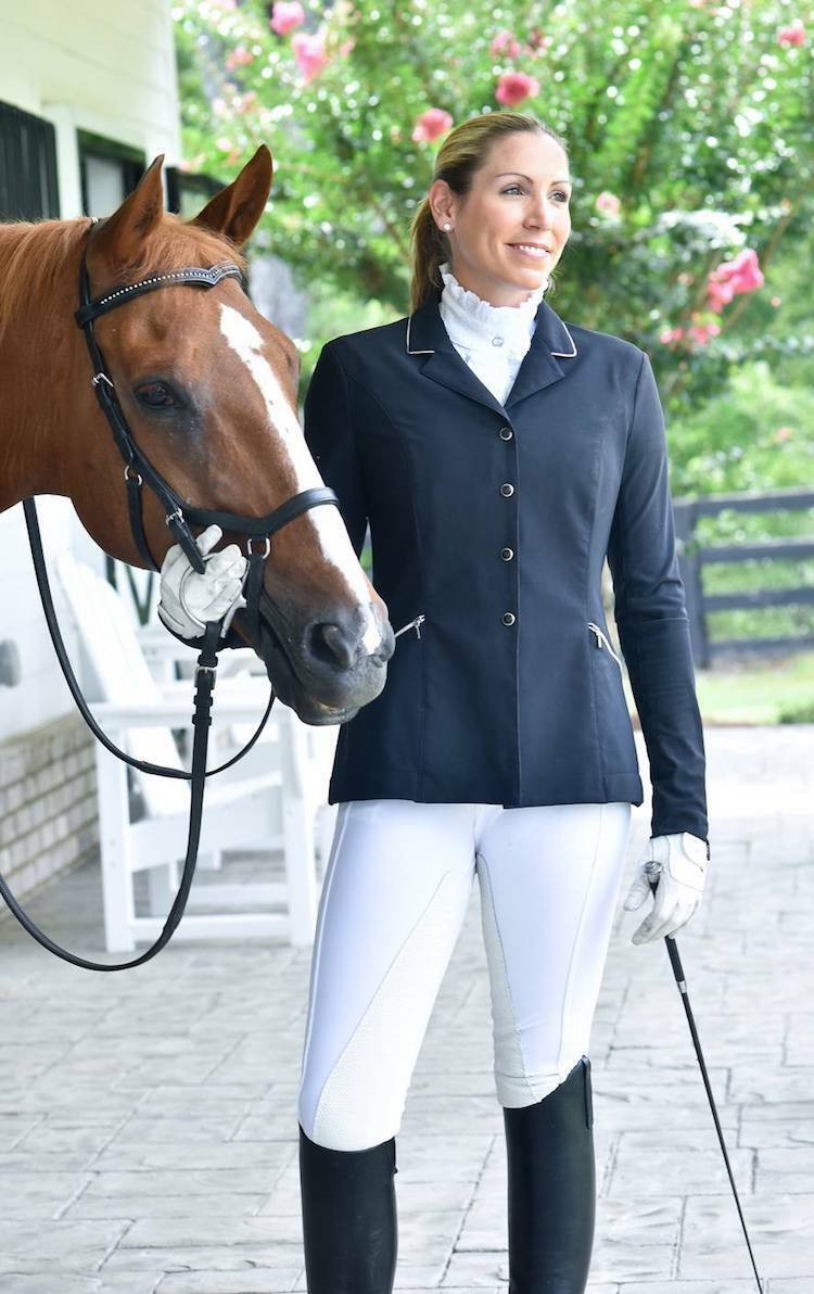 FITS PerforMAX™ Zip Front Full Seat Breech-White-XL