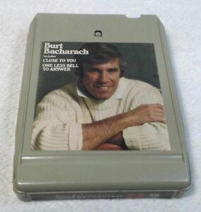 Burt Bacharach Self Titled Vintage 8 Track Tape Cartridge Tested