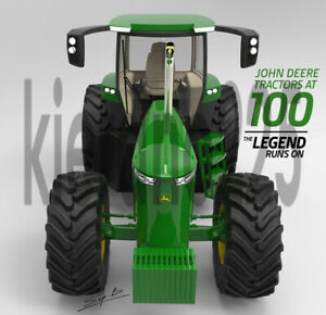 A3-John-Deere-4240-100-Years-Concept-Tractor-Brochure-Poster-Leaflet