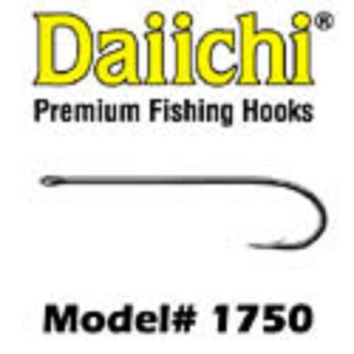 DAIICHI 1750  4x Long STREAMER HOOK fly tying hooks