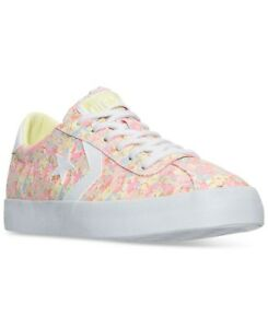 newest collection a51f1 ef233 Image is loading Converse-Breakpoint-Oxford-Sunset-Glow-Lemon-Haze-White-