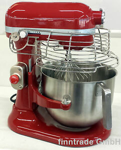kitchenaid professional 1 3 hp empire rot 5ksm7990xeer mit 6 9 l sch ssel ebay. Black Bedroom Furniture Sets. Home Design Ideas