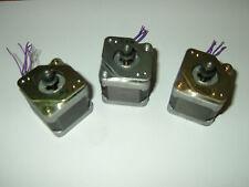 3 Stepper Motor Nema 17 Sanyo Denki Cnc Router Mill Lathe Robot Reprap Makerbot