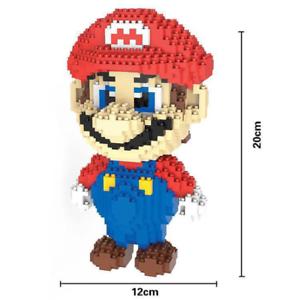 Bausteine Red Mario DIY Modell Kinder Geschenk DIY Figur Spielzeug 1750pcs