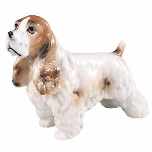 Ardalt Cocker Spaniel Dog Figurine Hand Painted Lenwile China Vintage Japan