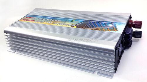 1000 W Maximum Power Point Suivi Grid Tie Inverter 10.5-28 V Detective Comics 220 V AC 50//60 Hz pour Solaire