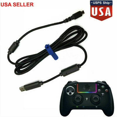 Usb Charging Charger Cable Cord Gamepad Xbox One For Razer Raiju Ps4 Controller 787446571546 Ebay Prog band from san francisco. ebay