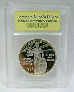USCG-COMMEMORATIVE-1-PR70-DCAM-1996-S-COMMUNITY-SERVICE