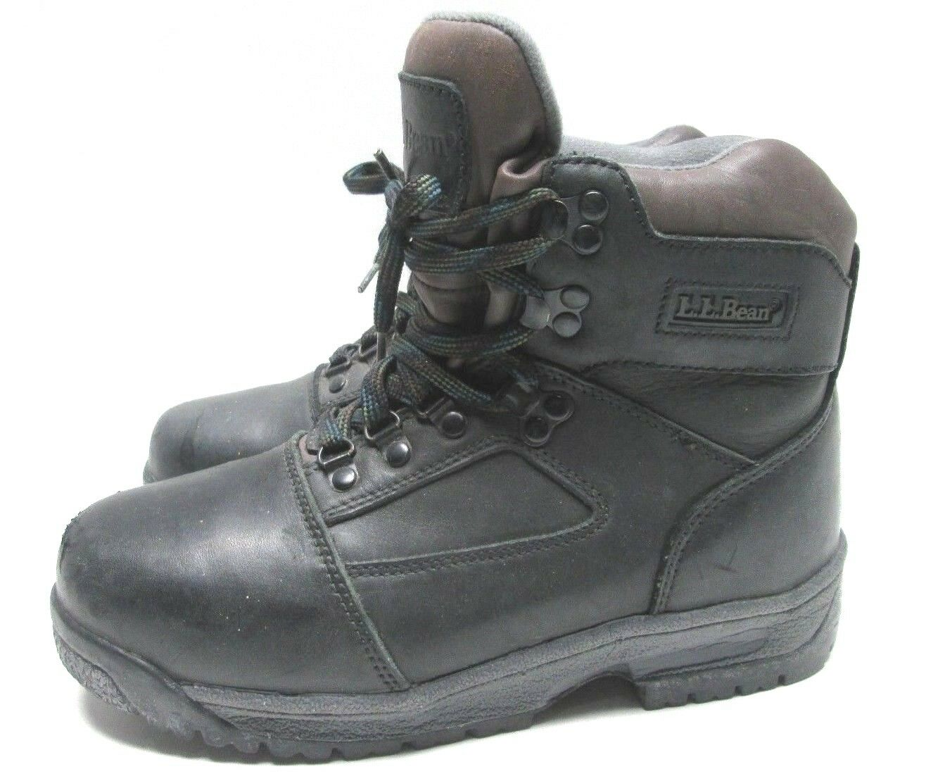 Women's LL Bean Hiker Hiking Boots Gore-Tex Dark Brown Size 8 Leather