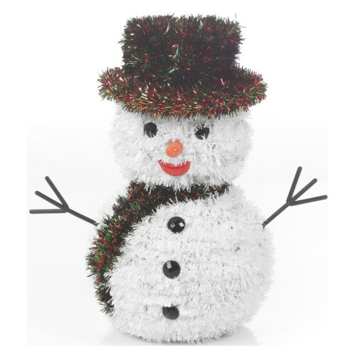 3D Snowman Figurine Decoration White Winter Christmas Model Ornament Frosty NEW