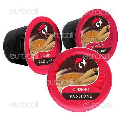 50 Capsule Baciato Caffè Gusto Ginseng Cialde Compatibili NESPRESSO