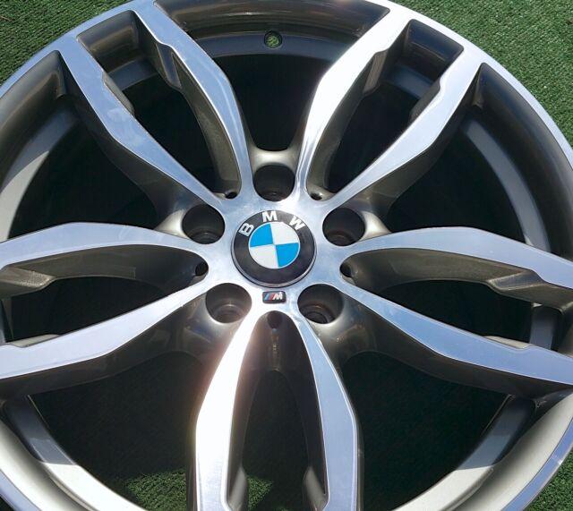 BMW X3 Machined 19 Inch OEM Wheel 2015-2018 36117849661
