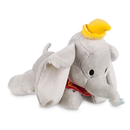 """SOFT PLUSH TOY 12/"""" FOR BABY New tags OFFICIAL DISNEY DUMBO"""