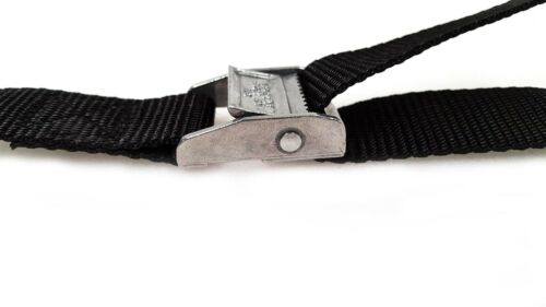 10 Buckled Straps 25mm Cam Buckle 500mm Long Heavy Duty Load Securing