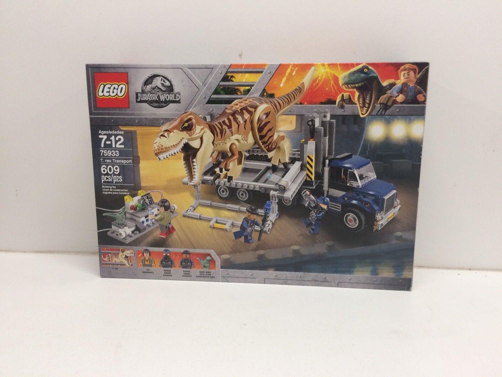 NEW  LEGO Jurassic World 75933 T.rex Transporter NIB Factory Sealed