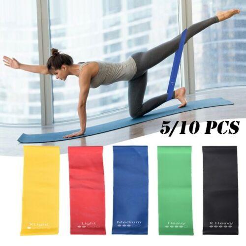 Details about  /5//10 PCS Rally Belt Set Strength Training Resistance Belt Yoga Training Belt
