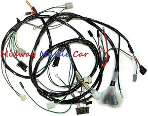 Details about front end headlight headlamp wiring harness 70-73 Chevy on civic wiring harness, wrangler wiring harness, m37 wiring harness, ford truck wiring harness, crown victoria wiring harness, corvette wiring harness, f150 wiring harness, gmc truck wiring harness, s10 wiring harness, 4runner wiring harness, camaro wiring harness, tahoe wiring harness, mustang wiring harness, h3 wiring harness, astro van wiring harness, gto wiring harness,