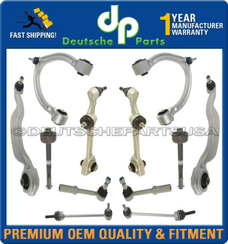 Mercedes W221 S550 S400 Front UPPER LOWER Control Arms Ball Joint SUSPENSION KIT