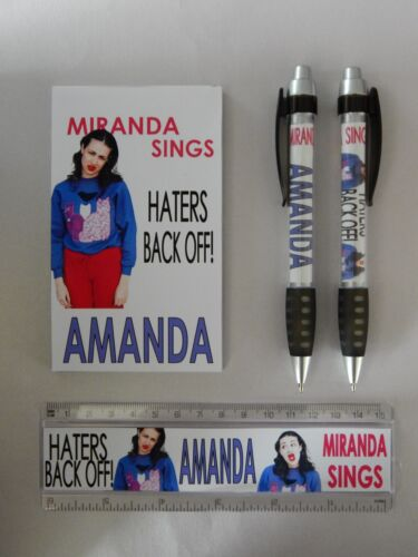 Miranda Sings Haters Back Off YouTube Vlog Stationery Set PERSONALISED ANY NAME