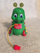 Leapfrog Alphabet Pal Green Caterpillar Pull Toy Numbers Colors Phonics Lights