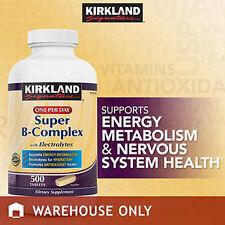 Kirkland Super B-complex supplement 500 tablets P2.00/tablet FREE SHIPPING