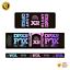 thumbnail 7 - STAR SAM® Bike shock absorber Gradient stickers 2021 Fox Float DPX2 Rear Shock