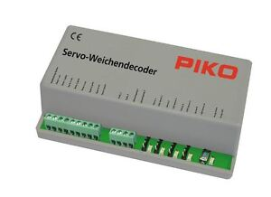 Piko-55274-Servo-Weichendecoder-fuer-bis-zu-vier-Weichenantriebe-neu-OVP