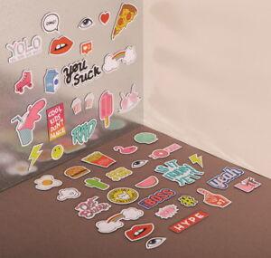 Magnetic-Icons-DOIY-lustige-Comic-Kuehlschrankmagnete-Spruch-Magnet-Set