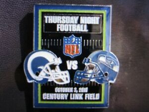 Seattle Seahawks Vs Los Angeles Rams October 3 2019 Game Day Pin Ebay