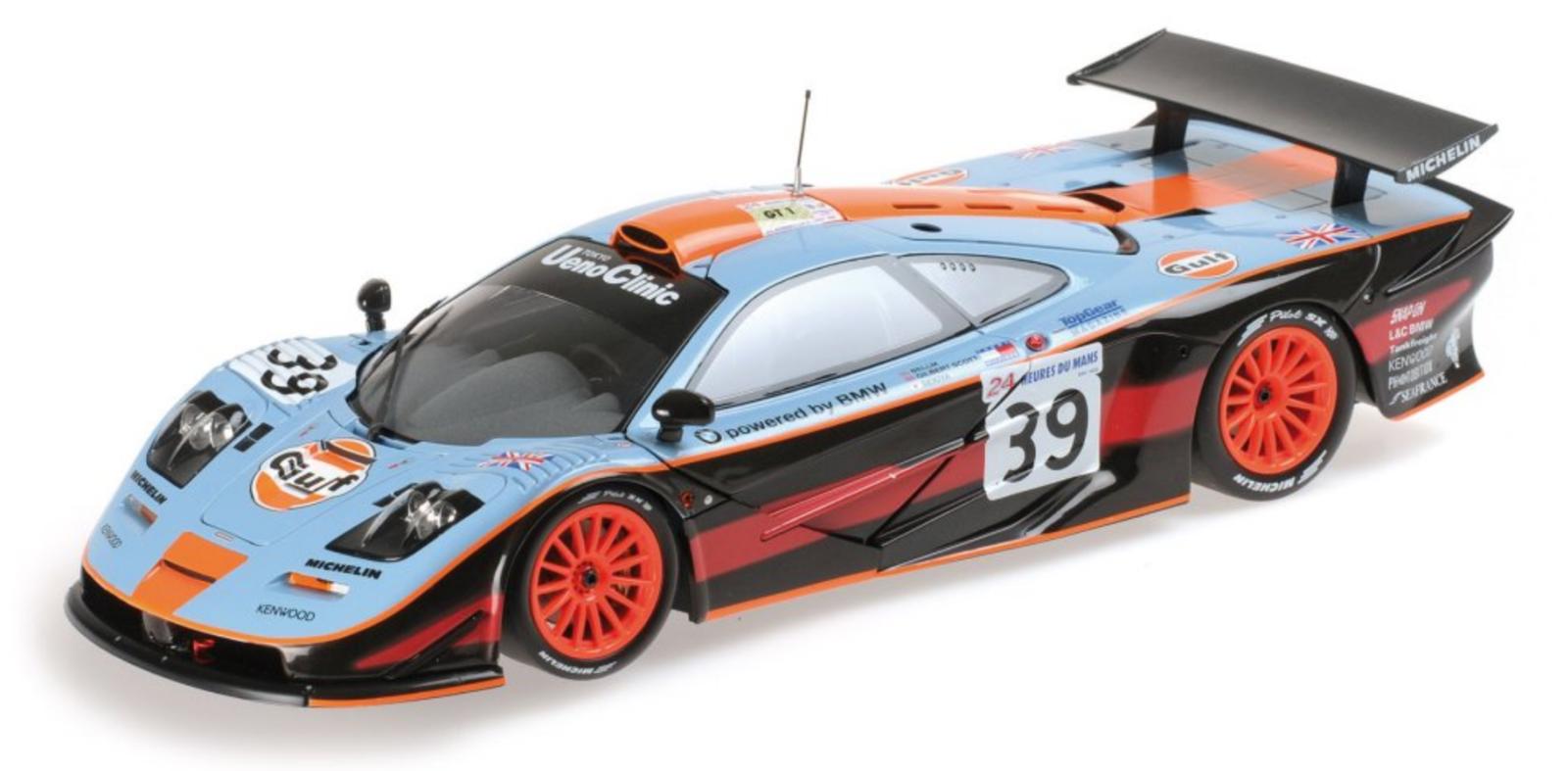 1 18 McLaren F1 GTR n°39 Le Mans 1997 1 18 • Minichamps 530133739
