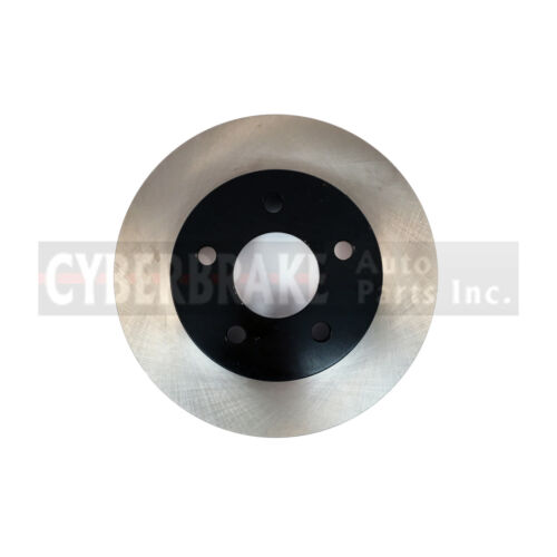 55094E REAR Premium Black E-Coat Rotor Pair of 2 Fits 05-10 Pontiac G6