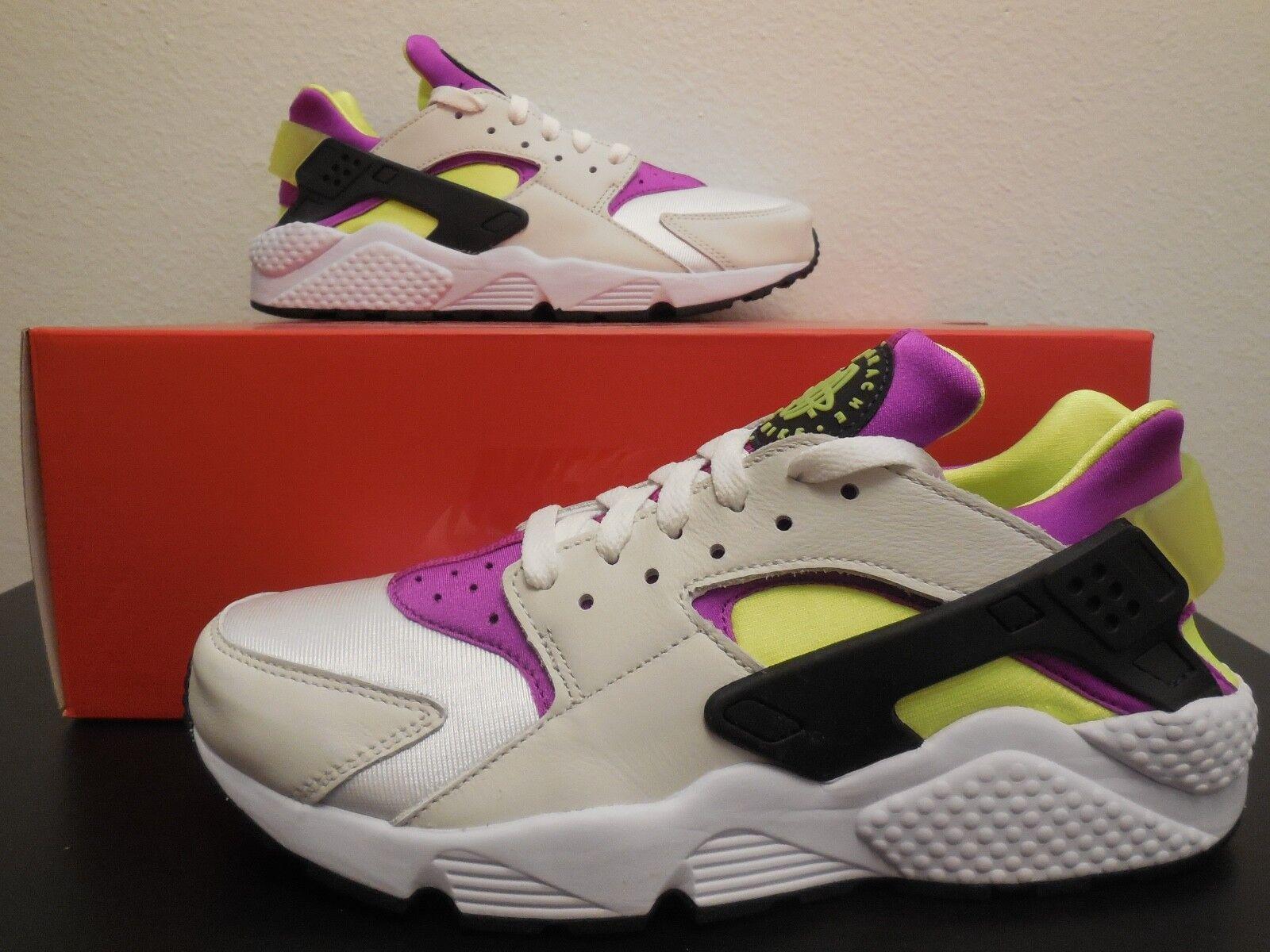 Men's Nike Air Huarache Run '91 QS shoes -Limited-StyleAH8049 101 -Sz 8.5 -NEW