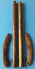 "2 Bahi sticks 20""(51 cm)&2 knife Palm ironwood  escrima Arnis Serrada Philippine"