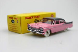 Pink-Dinky-TOYS-1-43-Dodge-Royal-Sedan-Alloy-car-Model-supercar-Atlas