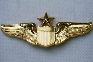 united states air force senior pilot gold wings 3 lapel. Black Bedroom Furniture Sets. Home Design Ideas