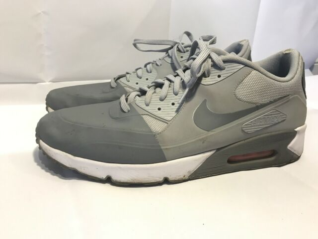 Nike Air Max 90 Ultra 2.0 SE Running Shoes Pumice Grey 876005 001 Men's Size 13