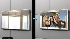 bathroom tv mirror glass brand new android 22 inch hd bathroom waterproof lcd 16921