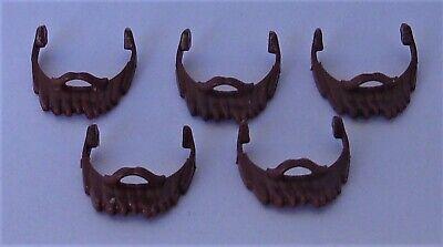 Playmobil  5 x Short Red Beards  Pirate//Dwarf//Knight//Viking    Mint condition