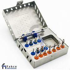 Dental Implant Surgical Drill Kit Drills Drivers Ratchet Dental Implant Kit