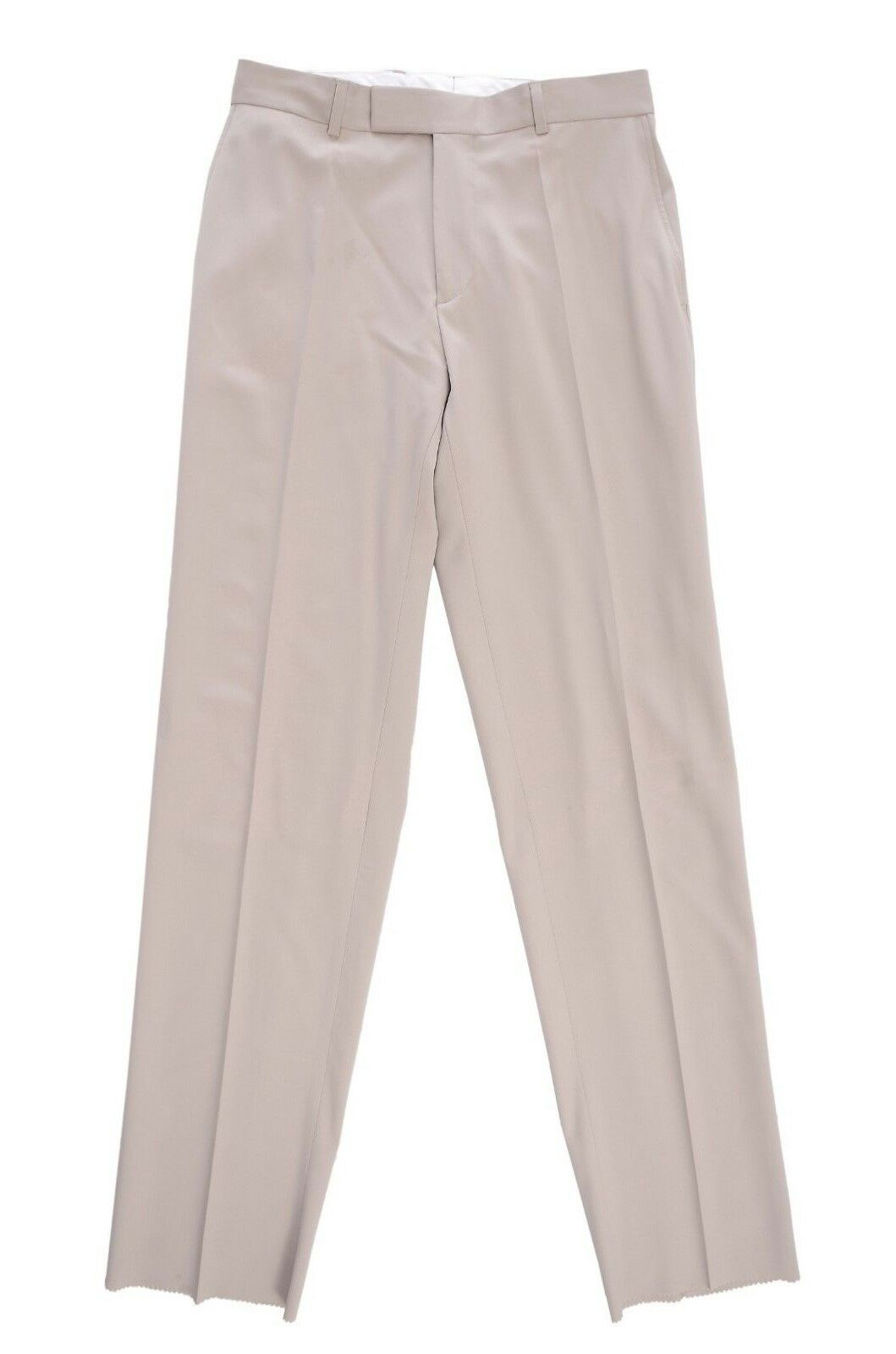 New Hugo Boss 32W Tan Light Brown James Dress Pants 100% Wool