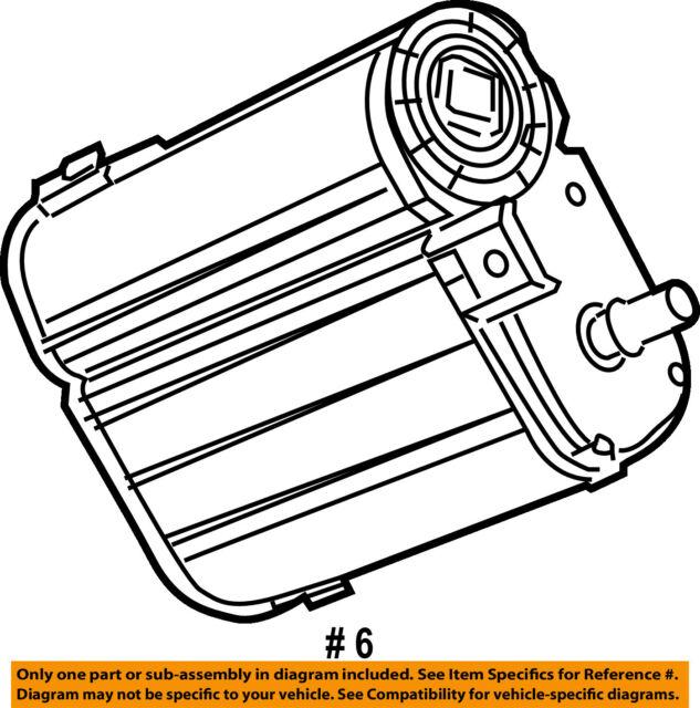 Buy Genuine Mopar Vapor Canister 4891747ae Online